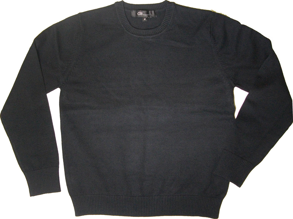 LJ Imports Crew Neck Sweater - 100% Cotton