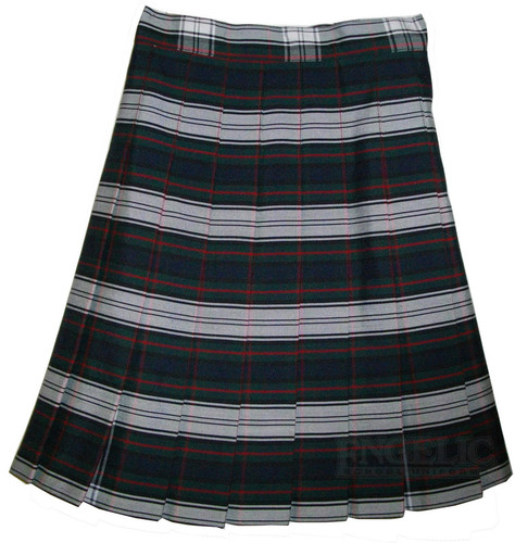 Girls School Uniform Pleated Skirt Plaid #50 YST