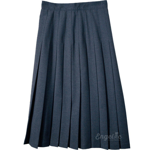 Junior Skirt Pleats Stitched Down Poly/Wool