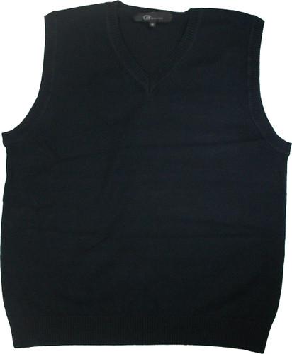 LJ Imports Junior Kids Sleeveless Cotton Sweater Vest | Navy