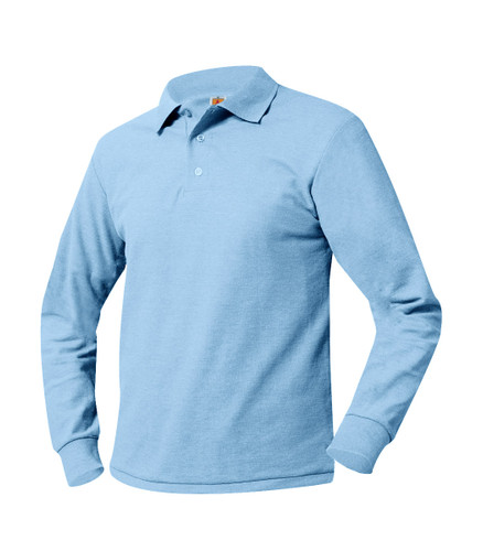 Knit Shirt Color Light Blue or White