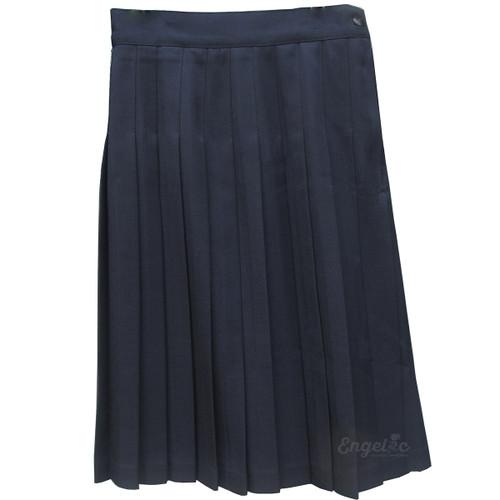 "Girls School Uniform Pleated Skirt Poly (1.5"" Pleats)"