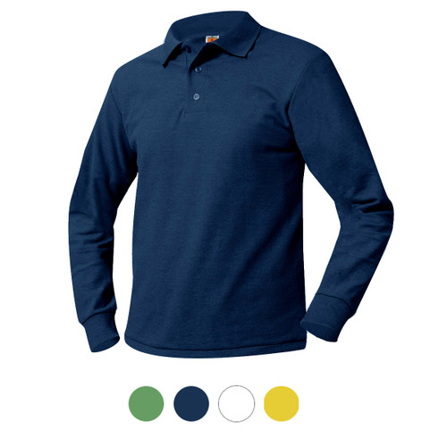 Knit Shirt Green or Navy or Yellow or White