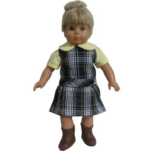 Doll Uniform Low Waisted Jumper - Plaid Q - Color #61