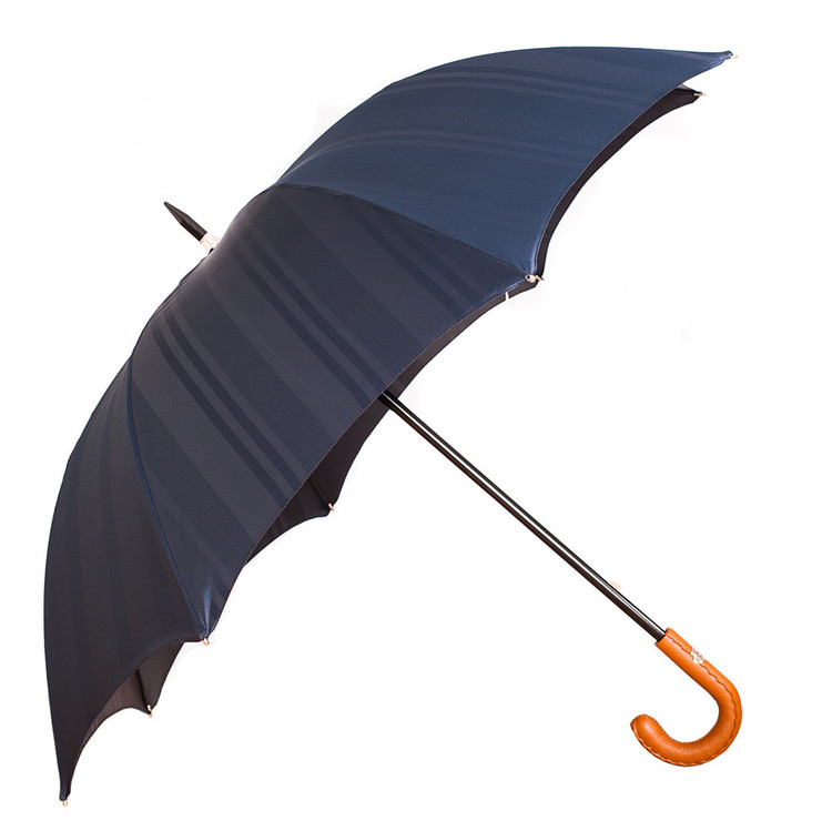 Francesco Maglia Dark Blue Striped Umbrella