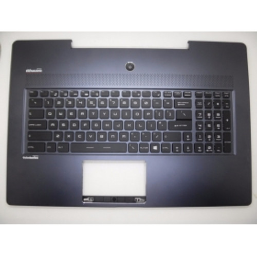 95% new Laptop Palmrest&Keyboard for MSI GS72 dark-blue without touchpad V143422BK1 UI US English S1N-3EUS217-SA0