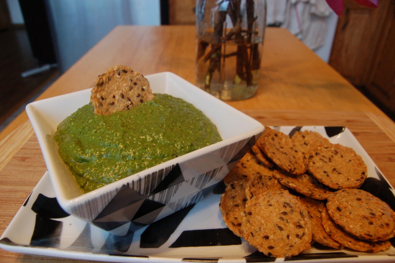 Nettle Pesto w/ Miner's Lettuce