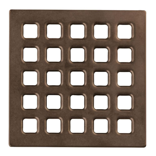 Durock Drain Grate - Oil Rubbed Bronze