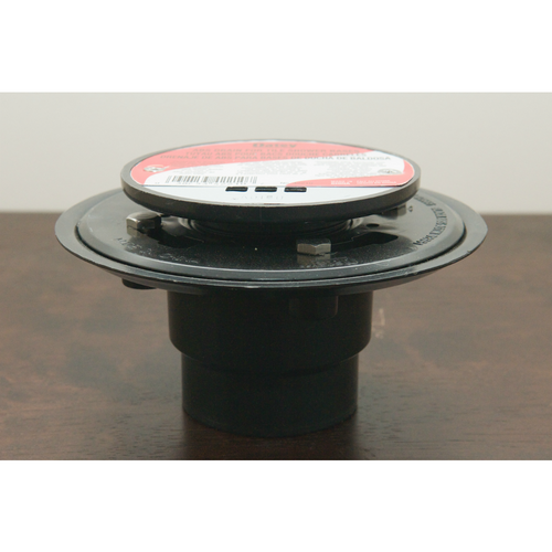 Oatey Three Piece Drain Assembly With Round Grate Cover