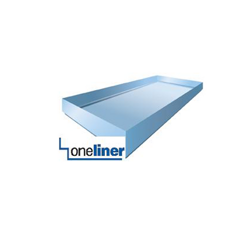 The one and only rectangular OneLiner shower pan liner.