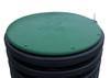 "30"" Plastic Septic Riser Cover (Green)"