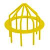 "Bar Guard Intake  6"" (Heavy Duty) Yellow"