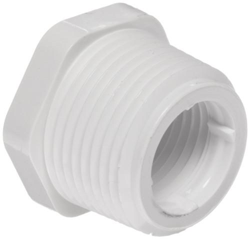 "1 1/2"" x 1 1/4"" PVC Schedule 40 Reducer Bushing (MPT x FPT)"