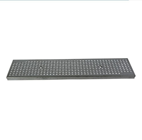NDS Dura Slope Galvanized Steel Perforated Grate (Each)