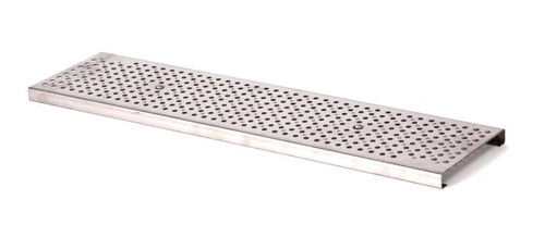 NDS Dura Slope Stainless Steel Perforated Grate (Each)