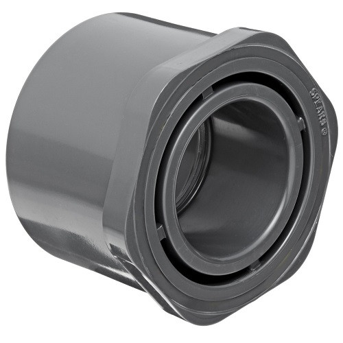 "4"" x 1/2"" PVC Schedule 80 Reducer Bushing (Sp x S)"