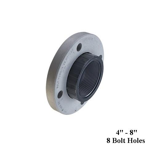 """6"""" PVC Schedule 80 Van Stone Flange (FPT) 150 PSI"""