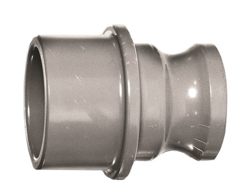 """1 1/2"""" PVC Quick Disconnect (Male Adapter x PVC Socket)"""