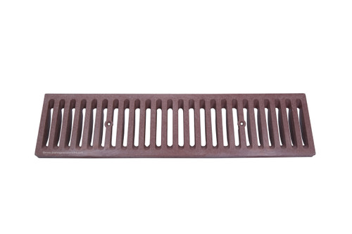 NDS Dura Slope Plastic Grate - Brick Red (Each)