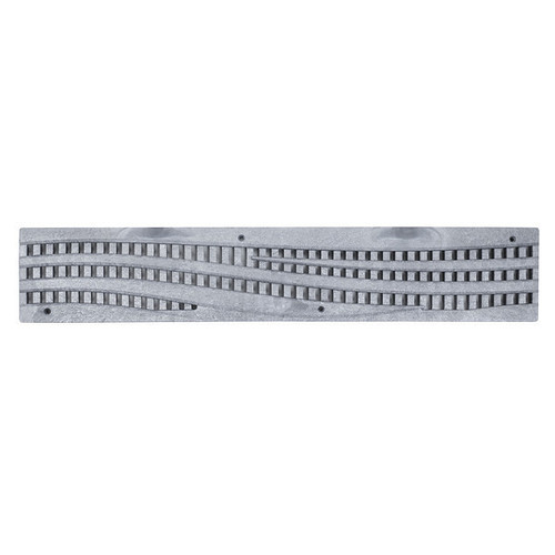 NDS Spee-D Channel Decorative Wave Cast Iron Grate