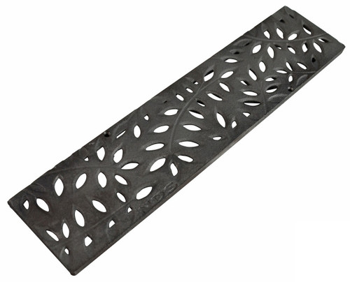 NDS Mini Channel Decorative Botanical Grate (Cast Iron)