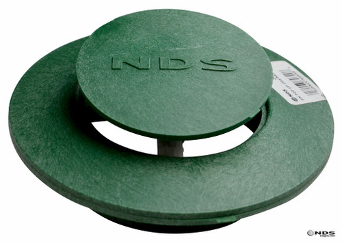 "6"" NDS Pop-Up Emitter with SDR35 Elbow (Green) (Each)"