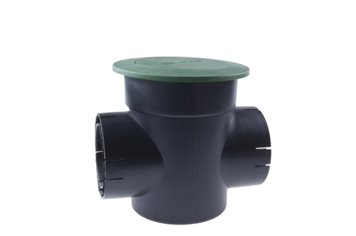 "6"" NDS Pop-Up Emitter with Double Outlet Spee-D Basin (Green) (Each)"