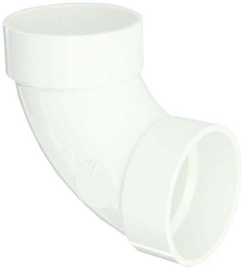 "10"" PVC DWV 90 (1/4) (S x S)"