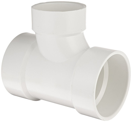 "2"" x 2"" x 1 1/2"" PVC DWV Sanitary Tee (S x S x S)"