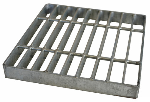 "NDS Square Galvanized Steel Grate for 9"" Basin"