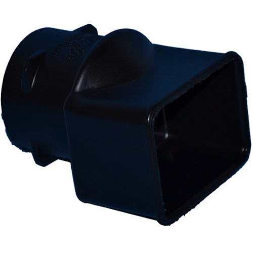 """HDPE  2"""" x 3"""" x 3"""" Singlewall Downspout Adapter (Box of 15)"""
