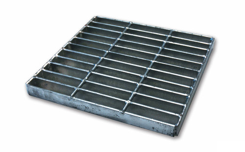 "NDS Square Galvanized Steel Grate for 12"" Basin"