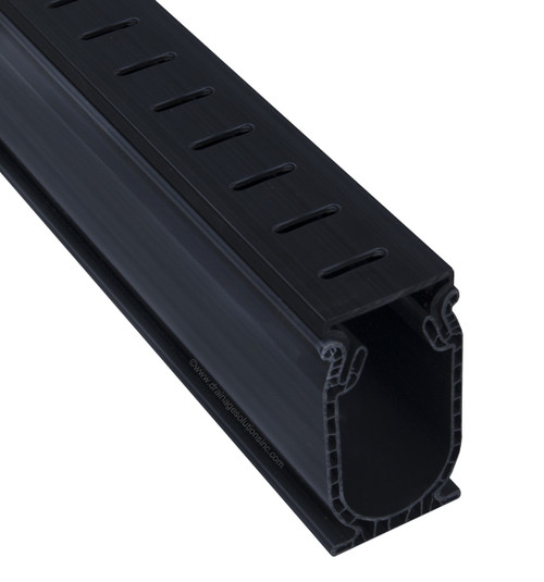 Stegmeier Frontier Deck Drain (Black) 10'