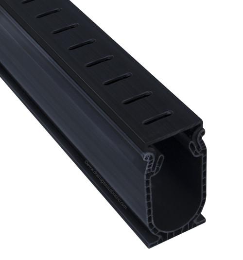 Stegmeier Frontier Deck Drain (Black) 5'