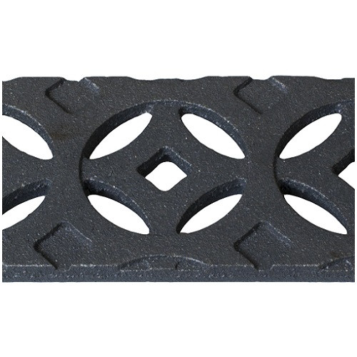 Iron Age Raw Cast Iron Mini Channel Interlaken Grate