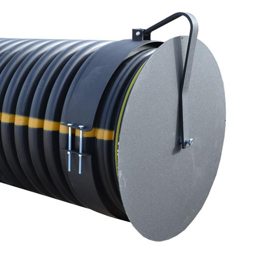 "Flap Gate 36"" for Corrugated Plastic Pipe"