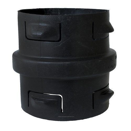 """HDPE  12"""" Singlewall Internal Coupling"""