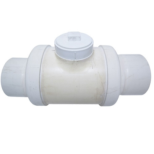 "10"" PVC DWV Fabricated Backwater Valve (S x S)"