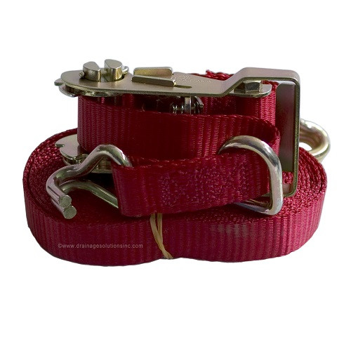 "1"" x 16' Wire Hook & Keeper Ratchet Strap (1,000 lb. / 3,0000 lb.)"