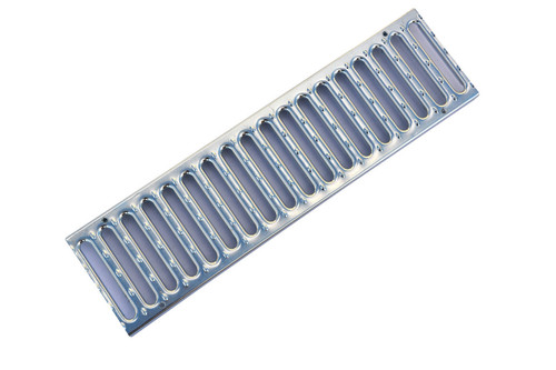 "NDS Pro Series 5"" Galvanized Channel Grate"