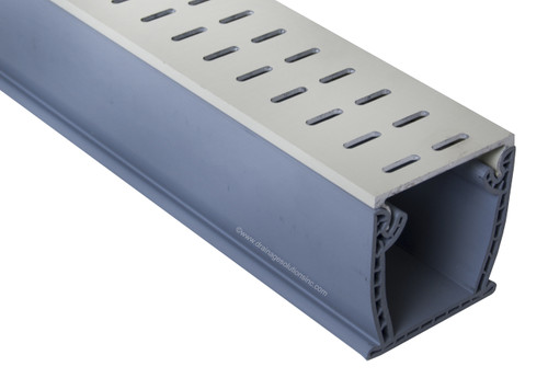 Stegmeier Flowmaster 3 A/T Deck Drain (Almond) 10'
