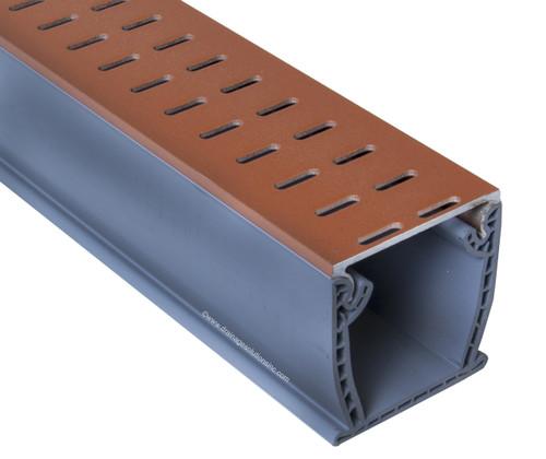 Stegmeier Flowmaster 3 A/T Deck Drain (Copper) 10'