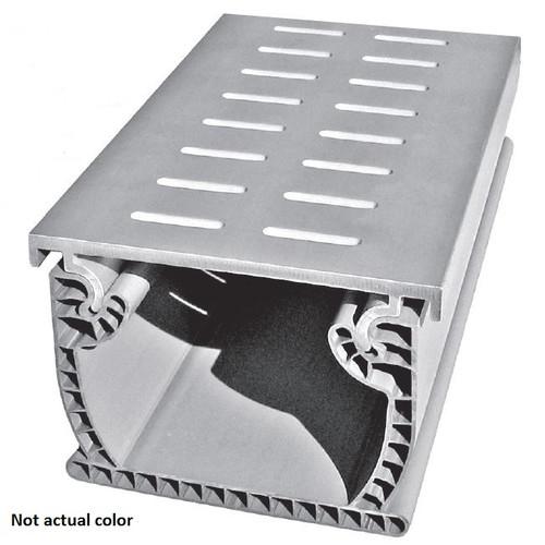 Stegmeier Flowmaster A/T Deck Drain (White) 10'