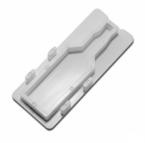 NDS Micro Channel End Plug - White