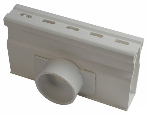 NDS Micro Channel Side Outlet - White