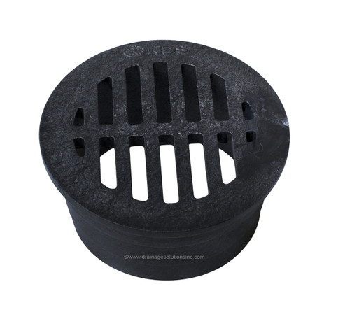 """NDS  3"""" Round Grate - Black (Each)"""