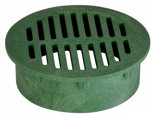 """NDS  6"""" Round Grate - Green (Each)"""