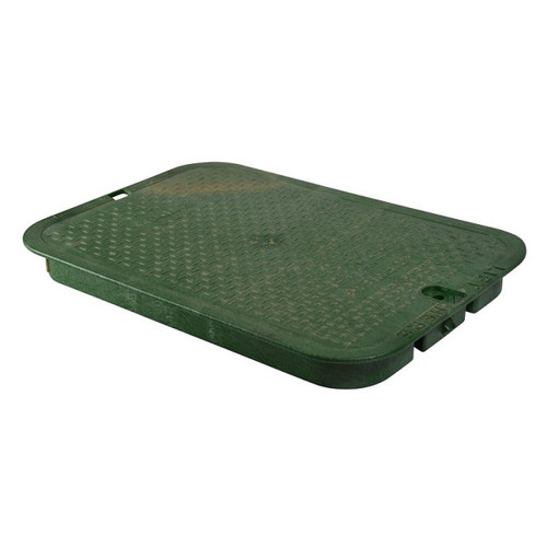"NDS 13"" x 20"" Valve Box Cover ONLY - Green"