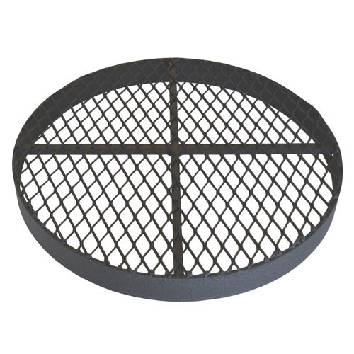 """Standard 18"""" Metal Grate for for CMP or PVC Pipe"""