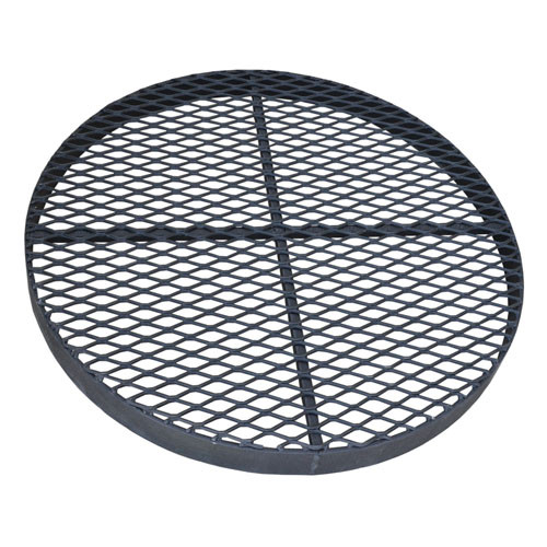 """Standard 24"""" Metal Grate for for CMP or PVC Pipe"""